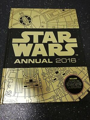 STAR WARS ANNUAL 2016 - FREE POSTAGE