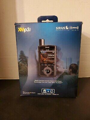 XMp3i Model Sirius XM Portable Satellite Radio Receiver W/Dock, Cords & Remote