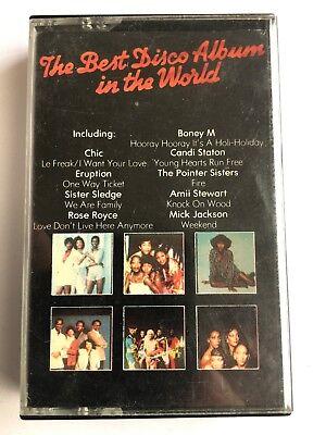 THE BEST DISCO ALBUM IN THE WORLD - Cassette - CHIC, SISTER SLEDGE, ROSE (Best Roses In The World)