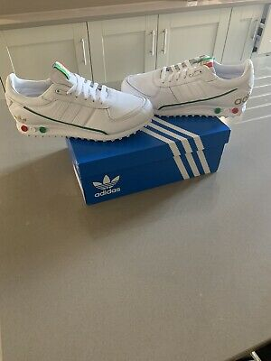 ADIDAS LA TRAINER : Mens White Trainers | UK 7.5 |Casuals : *FU6949* Rare