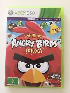 Angry Birds trilogy Xbox 360 Kinect New Farm Brisbane North East Preview