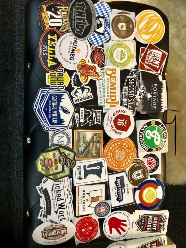 Beer Brewery Sticker (1) Read Description