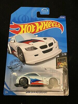 2020 Hot Wheels #172 BMW Z4 M Motorsport  New Near Mint