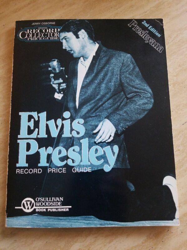 Original Record Collectors Price Guide for Elvis Presley 2nd Edition