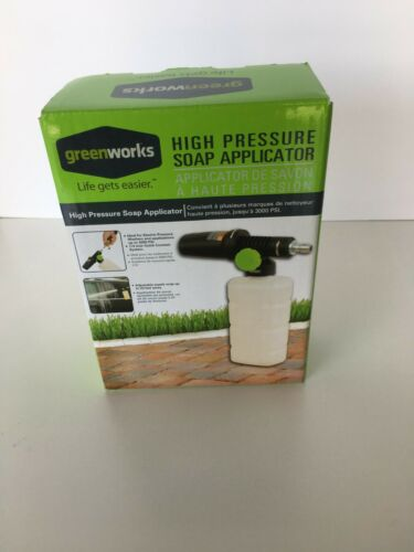Greenworks 51362 High Pressure Soap Applicator for Pressure Washers