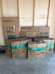 U-Haul Moving Boxes