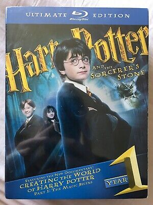 Harry Potter And The Sorcerers Stone Ultimate Edition Blu-ray 3 Disc SEALED
