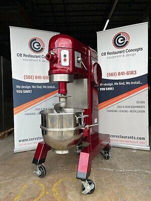 Used Hobart H600 60qt Mixer Pizza Dough