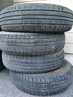 4 x tyres 185/75 r14 suit Camry and others Morisset Lake Macquarie Area Preview
