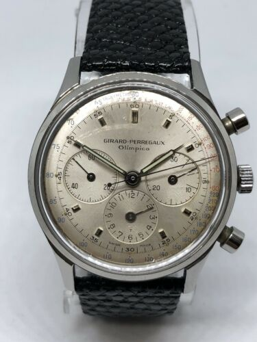 GIRARD PERREGAUX OLIMPICO  CRONOGRAPH  CAL.073 REF. 944623 - watch picture 1