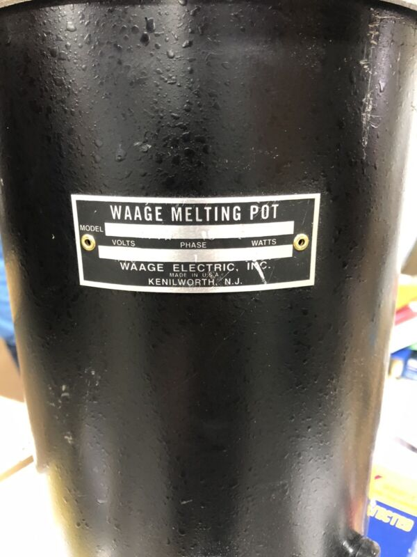 Waage Smelting Pot -Electric
