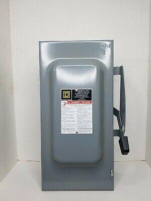 Square D Du323 100 A 240 V Nonfusible Nema 1 General Duty Safety Switch