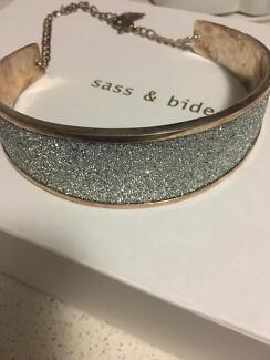 Sass & Bide Swarovski Crystal Dazed In Daydreams Collar Necklace