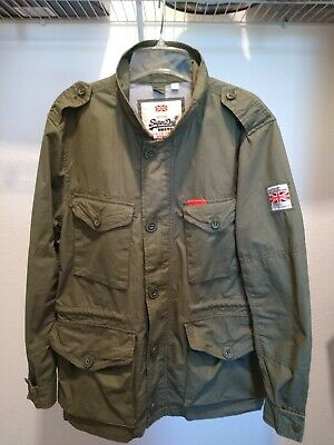 "Superdry Men's ""The Rookie"" Military Field Jacket XL"
