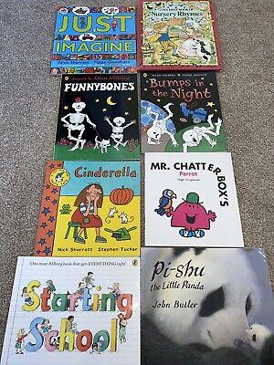 Bundle Of 8 Kids Books Funny Bomes Janet Allan Ahlberg Nick Sharratt
