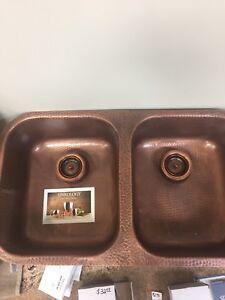 Copper sink!