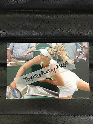 Maria Sharapova Tennis Photo Aegon Wimbledon 2017 6X4 Inch