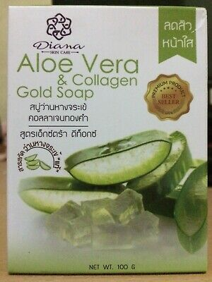 Premium product best seller, Aloe Vera & Collagen Gold Soap, Extra Detox.