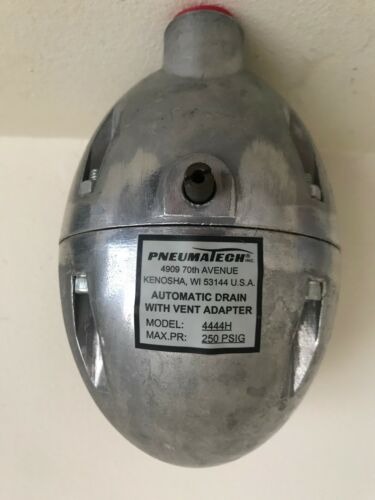 PNEUMATECH Automatic Drain With Vent Adapter Model 4444H NOS