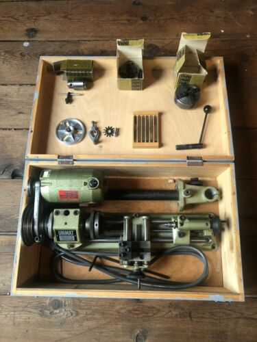 Unimat SL1000 Mini Lathe With Accessories