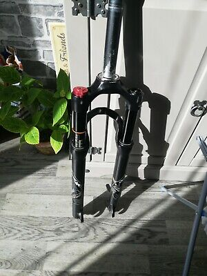 Mountain bike front air suspension forks