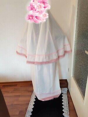 2-tlg Islamische Gebetskleidung Hijab Abaya für mädchen der Rock beträgt 86 cm