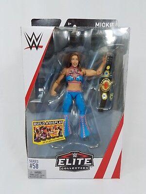 Mickie James WWE Mattel Elite Series 58 Brand New Action Figure Mint Packaging