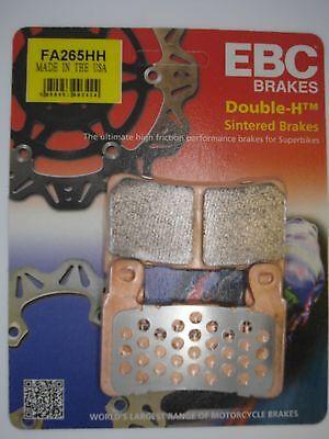 EBC HH Sintered Front Brake Pads Honda CBR929 Fireblade 2000 FA265HH