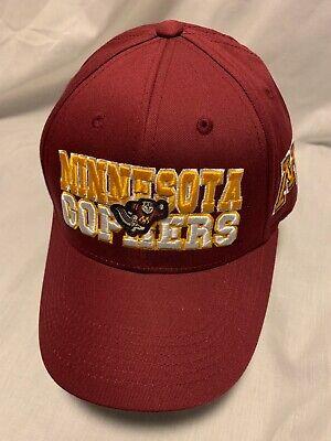 wholesale dealer 20cb8 7f692 MINNESOTA GOPHERS NCAA TOP OF THE WORLD TEAMWORK HAT CAP ADJ SNAPBACK OSFM  NWT