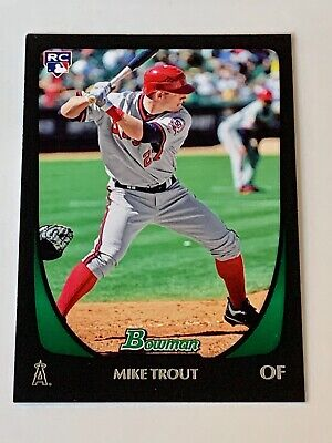 2011 Bowman - MIKE TROUT (RC) - Rookie - Anaheim Angels