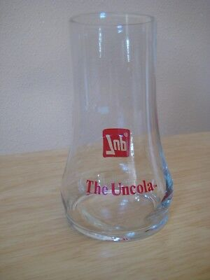 Vintage 7Up the Uncola Glass Upside Down Red Decals Soda