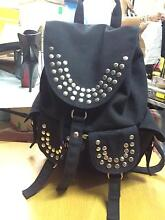 Black studded backpack Surfers Paradise Gold Coast City Preview