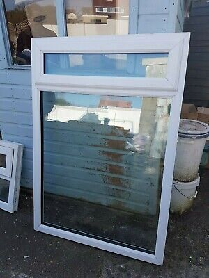 Used white upvc  window