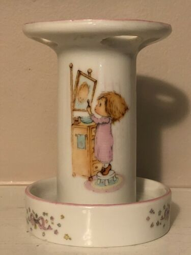 Vintage Betsey Clark Toothbrush Holder Ceramic Hallmark 1976 Bathroom CUTE!