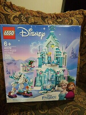LEGO 43172 Disney Frozen Elsa's Magical Ice Palace Brand New/Sealed