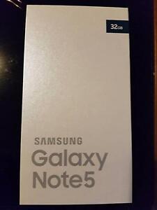 Brand New **SEALED** Samsung Galaxy Note 5 - Black 32GB UNLOCKED! Truganina Melton Area Preview