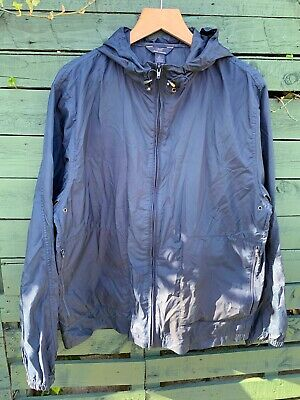 "Brooks Brothers ""346"" packable shell jacket. Size large. Navy"