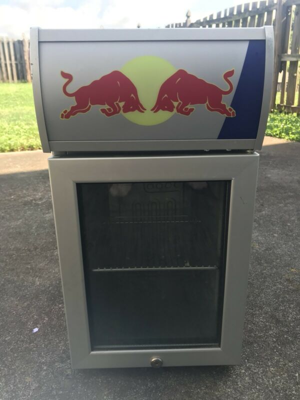 Great Condition Red bull mini fridge