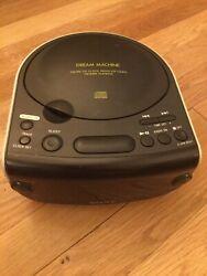 Vintage Sony Dream Machine AM/FM Dual Alarm Clock Radio ICF-CD815 Tested