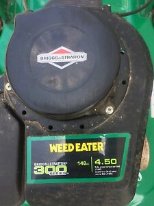 "Weed Eater gas powered 20"" lawnmower"