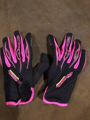 O'NEAL Kids Riding GLOVES Size Youth 5 Medium Element Pink Black. Used 1 Time. Element Kids Glove