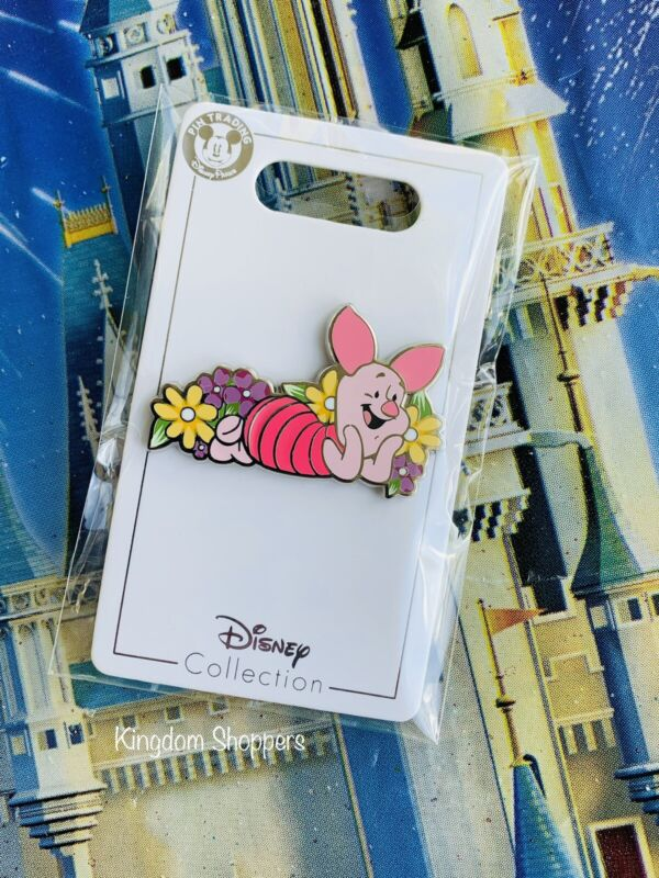 2021 Disney Parks Pin Winnie The Pooh Piglet Flair Open Edition