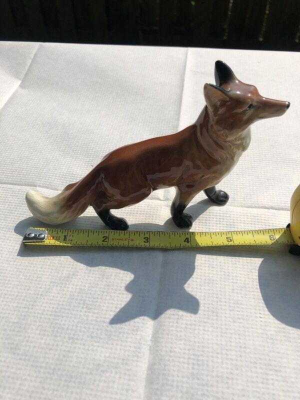 Vintage Fox Figurine