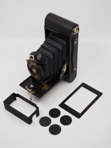 116 to 120 Film Spool Adapter Set/Kit 6X9 film mask and darkslide for Kodak 2A