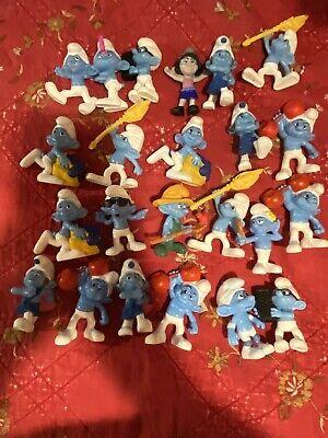 McDonalds Peyo Smurf Toys +