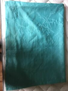 Blue curtain with tree design !!!!