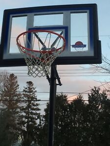 Basket ball net/backboard/stand