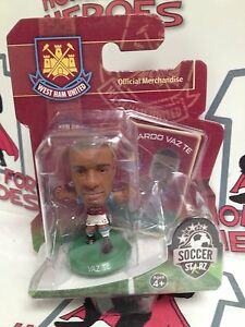 SOCCERSTARZ-WEST-HAM-UNITED-RICARDO-VAZ-TE-GREEN-BASE-SEALED-IN-BLISTER-PACK
