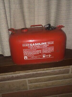 Tempo 6 Gallon Marine Gasoline Container Empty Gas Can Cleveland Oh Boat Can