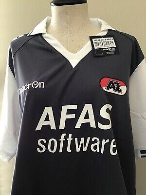 AZ Alkmaar Away Soccer Jersey 2012/2013 Jersey EU Size XL Gun Metal Gray image